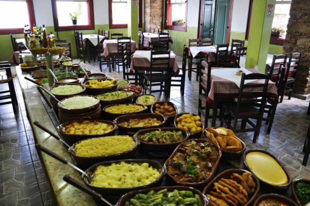 Restaurante Casarão Andrade. Divulgação