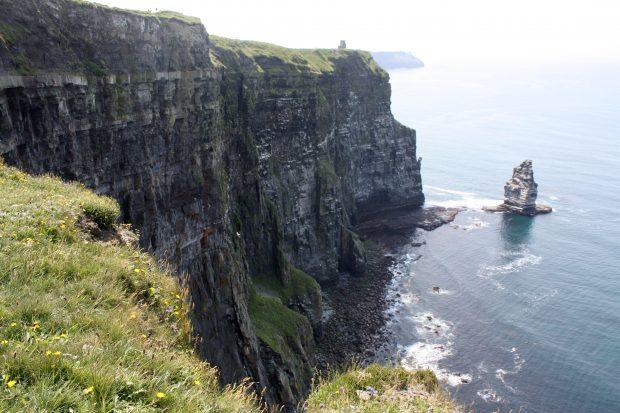 Hag's Head, no parque de Cliffs of Moher, Irlanda - foto: Carlos Raffaeli