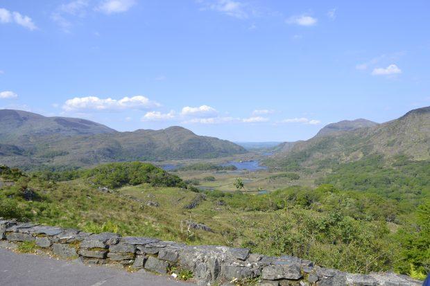 Reek's Ridge, visto do mirante de Ladies' View, Irlanda - foto: Carlos Raffaeli