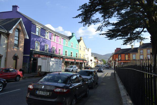 O bucólico centro de Kenmare, Irlanda - foto: Carlos Raffaeli