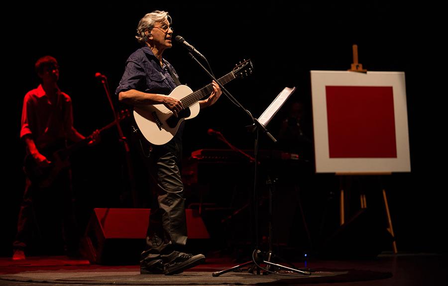 Caetano Veloso, uma das grandes atrações do Montreux Jazz Festival Japan