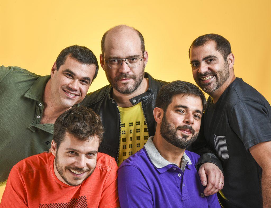 O grupo Casuarina faz 15 anos. Foto: Páprica Fotografia/Divulgação