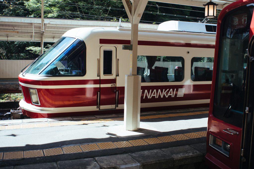 Trem que leva de Osaka à Koyasan. Foto: Ola Persson