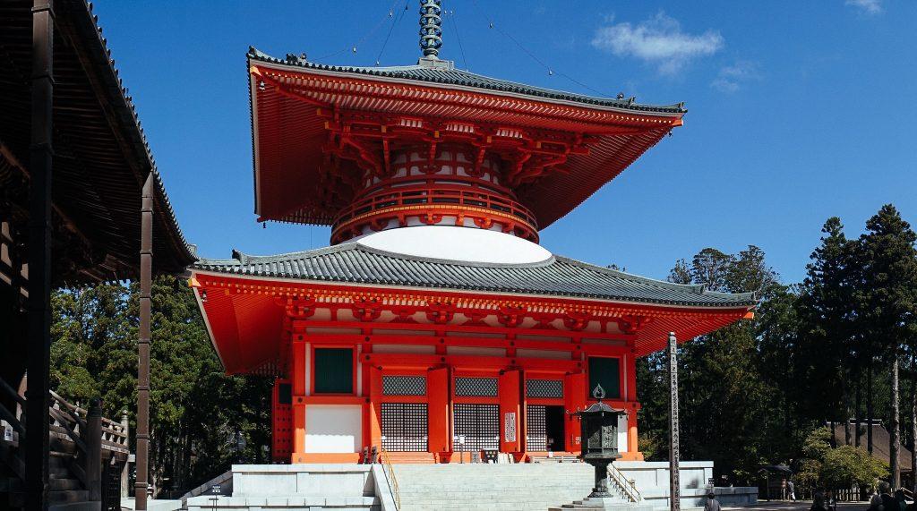 A pagoda vermelha. Foto: Ola Persson