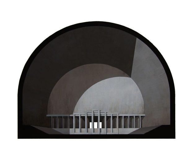 Renato Nicolodi, Angiportus I, 2012. Cortesia do artista (Obra integrante da mostra Forma da Forma - de 05 de outubro a 11 de dezembro de 2016). https://www.maat.pt/pt/exposicoes/forma-da-forma