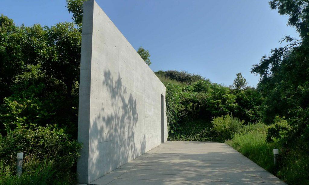 Entrada do Chichu Art Museum