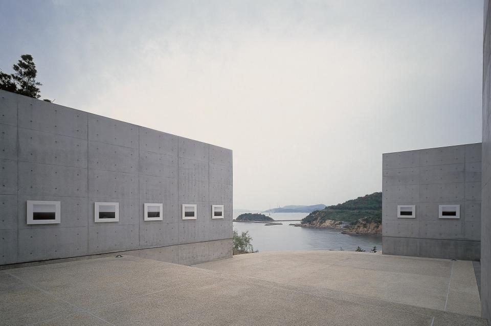 Área externa do Benesse Art Museum