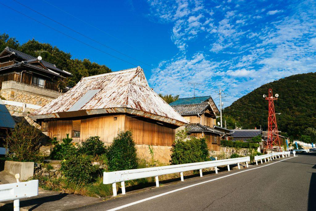 Uma das ruas de Teshima. Foto: Ola Persson