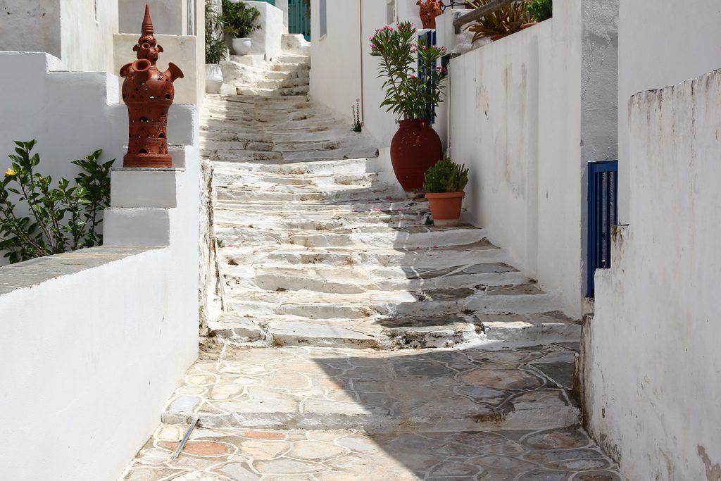 Escadaria em Artemonas. Foto: Archway Andres