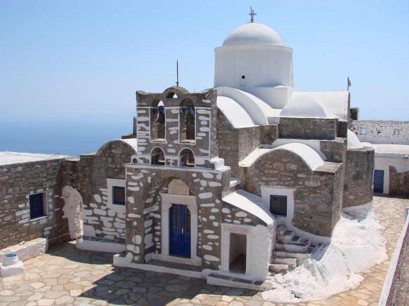 Mosteiro do Profeta Elias Ypsilos. Foto: Koen