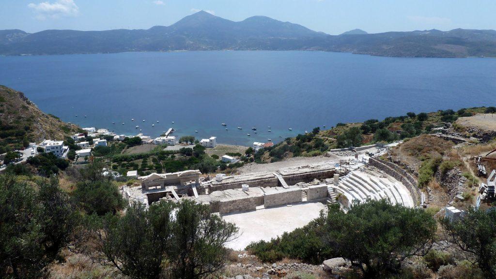 O Antigo Teatro de Milos. Foto: Kostas Limitsios