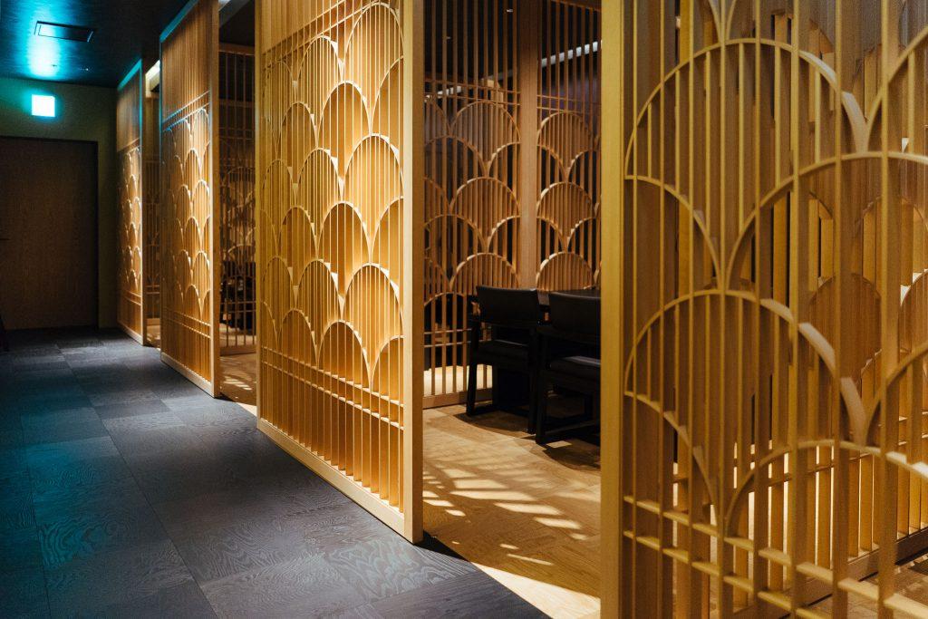 Restaurante: entrada da sala privada. Foto: Ola Persson