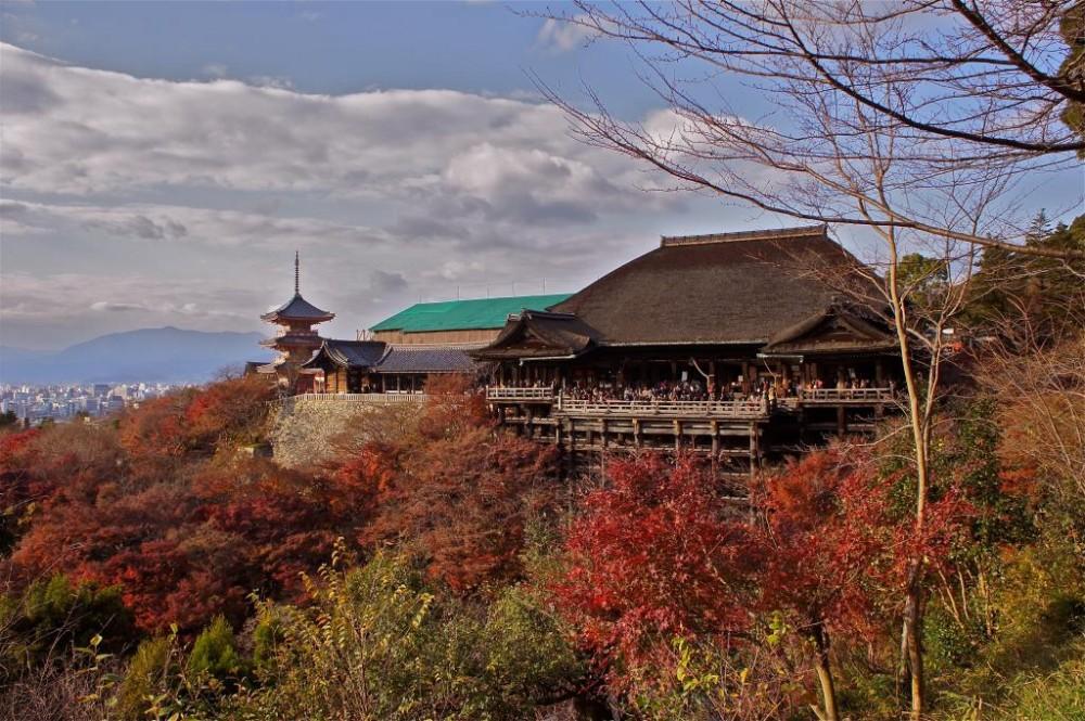 Kiyomizudera no outono. Foto: japantravel.com