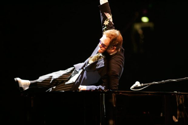 Elton onstage at Watford Football Club, June 18, 2005. http://www.eltonjohn.com/media/photos/on-stage/