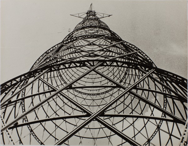 Alexander Rodchenk Sukov Tower, 1920. The Sir Elton John Photographic Collection. Copyright A. Rodchenko & V. Stepanova Archive DACS, RAO, 2016. http://www.tate.org.uk/whats-on/tate-modern/exhibition/radical-eye-modernist-photography-sir-elton-john-collection