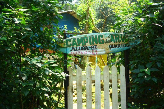 Camping da Árvore na Prainha Branca - foto: Renato Salles