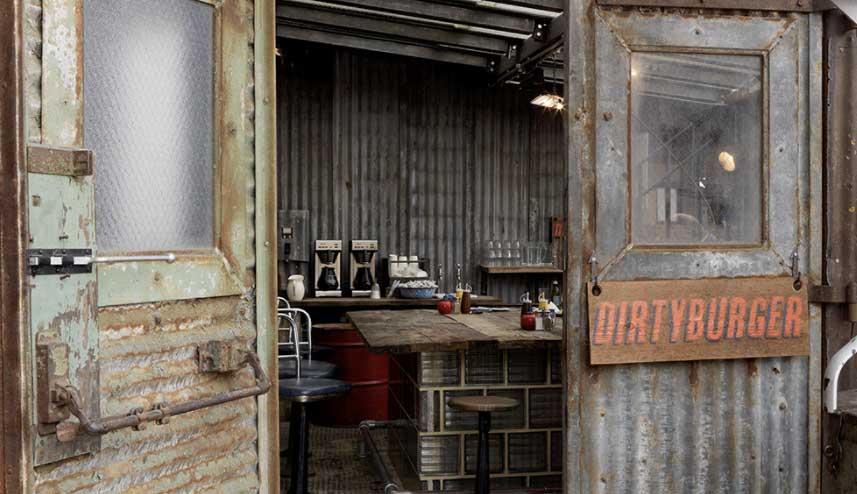 Dirty Burger de Kentish Town. Foto: Dirty Burger