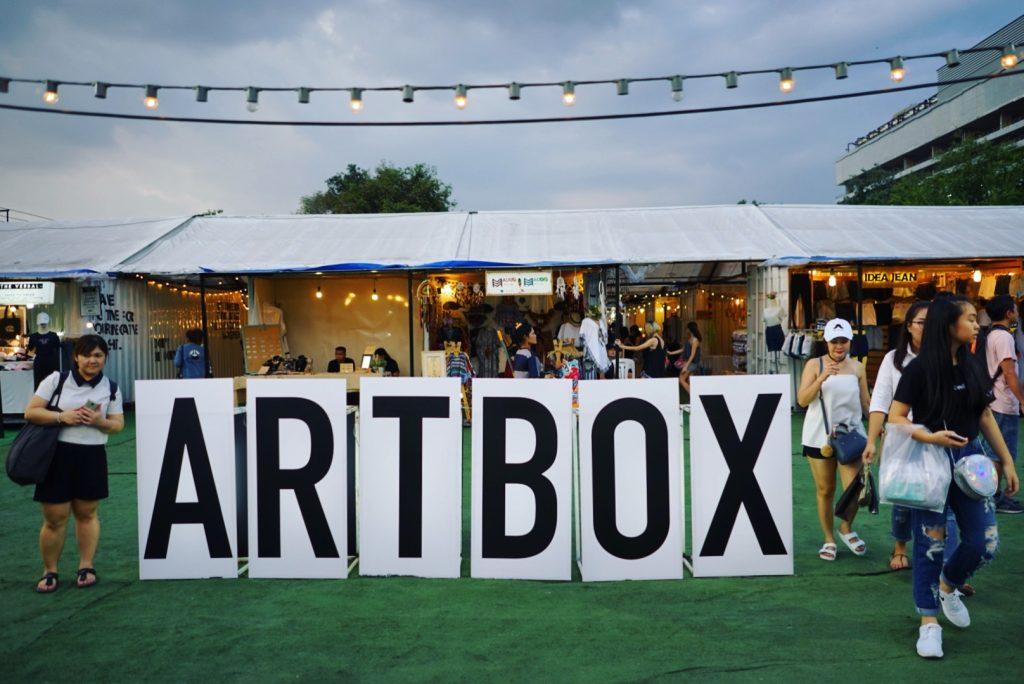 Artbox Thailand. Foto: Lalai Persson