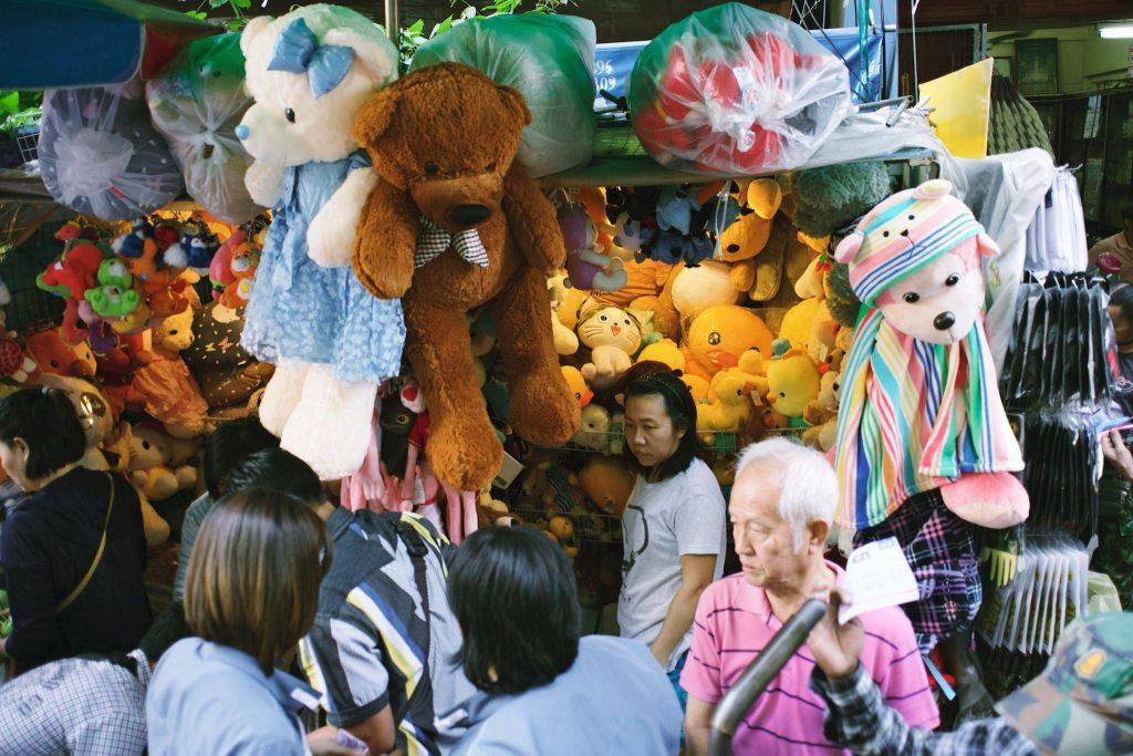 Mercado de rua no meio de Chinatown. Foto: Ola Persson