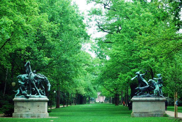 Tiergarten. Foto. Tina Sayed Nestlus. Flickr.