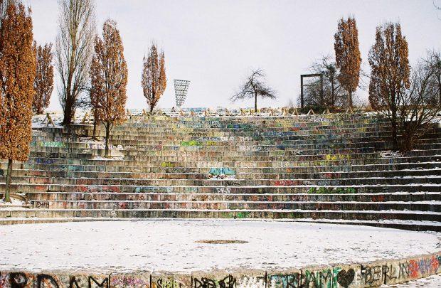 Mauerpark. Fotografia K_Tjaaa. Flickr.