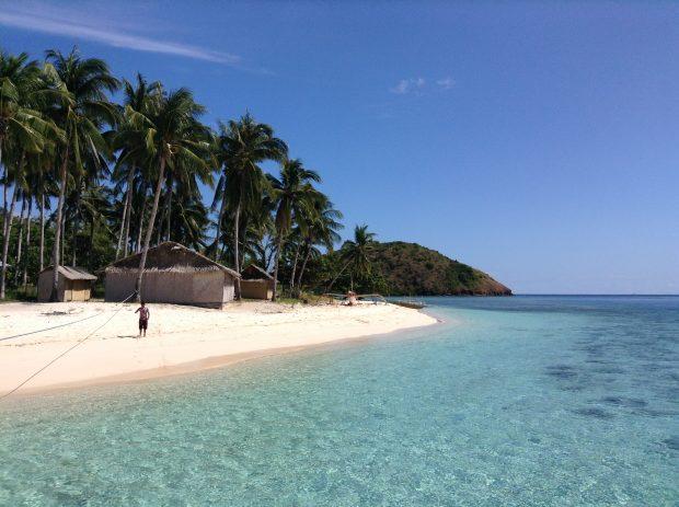 Uma ilha em Palawan
