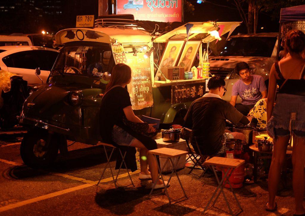 JJ Green Market, ótimo para fugir do calorão. Foto: Chayanin Onima