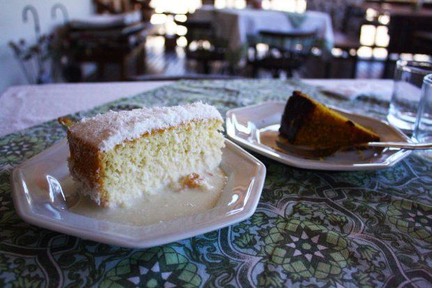 No Xica Café, todo dia tem bolo fresquinho.