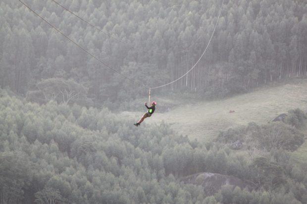 Tirolesa – foto: Luiz Gustavo Miguez