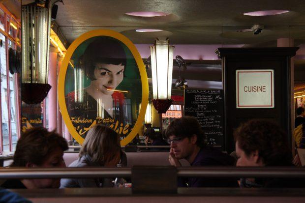 Café des Deux Moulins (Do filme o Fabuloso Destino de Amelie Poulin, 2001). Foto: Mario Sánchez Prada. Flickr.