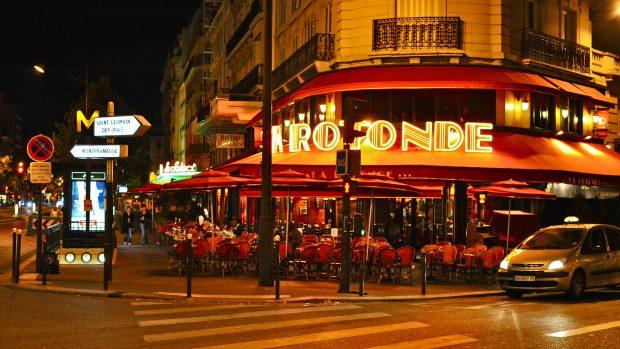 La Rotonde, Montparnasse. Foto: Henrik Berger Jørgensen. Flickr