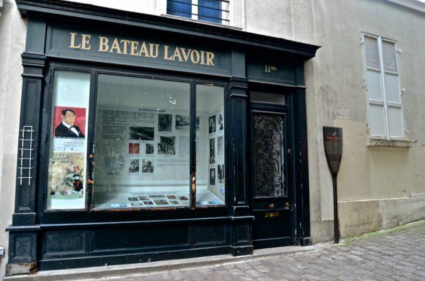 Bateau Lavoir, Montmartre, Wikipedia.