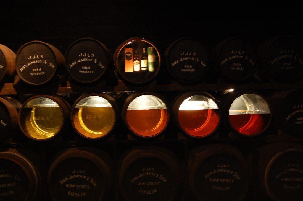 Jameson Distillery. Foto por Scott Stadum