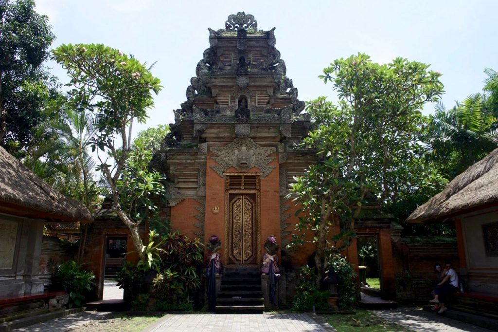 Templo em Ubud, Bali