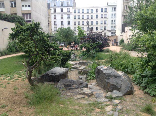 Praça Alain Bashung, Goutte d'Or, Paris - foto: Wikipedia