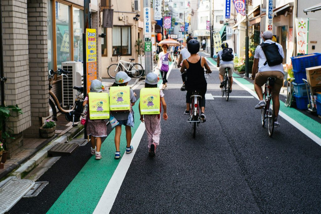 Bike em Tokyo, Japão