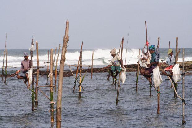 Pescadores palafita sri lanka