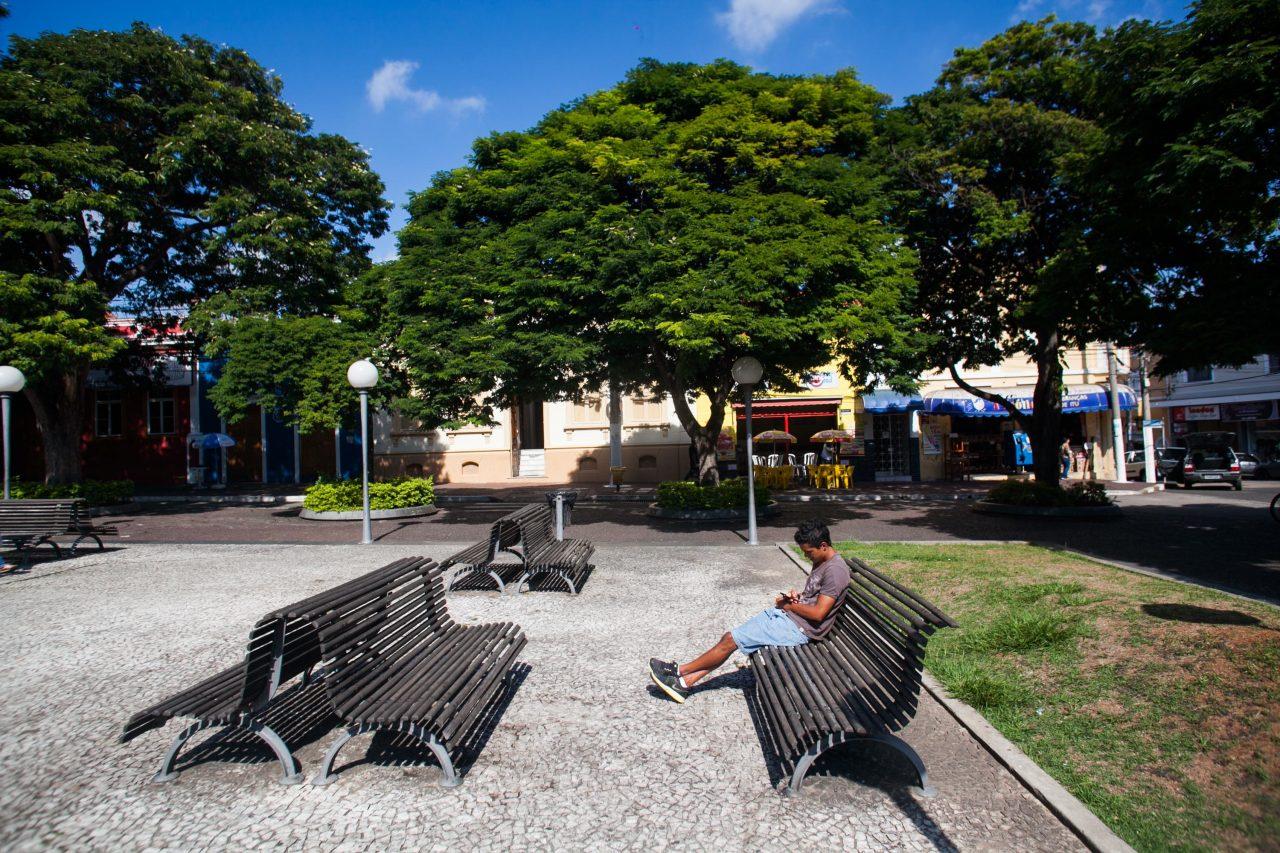 Praça da Matriz, centro histórico da cidade de Itu. Foto: Edson Lopes Jr/A2 FOTOGRAFIA. Governo do Estado de São Paulo.