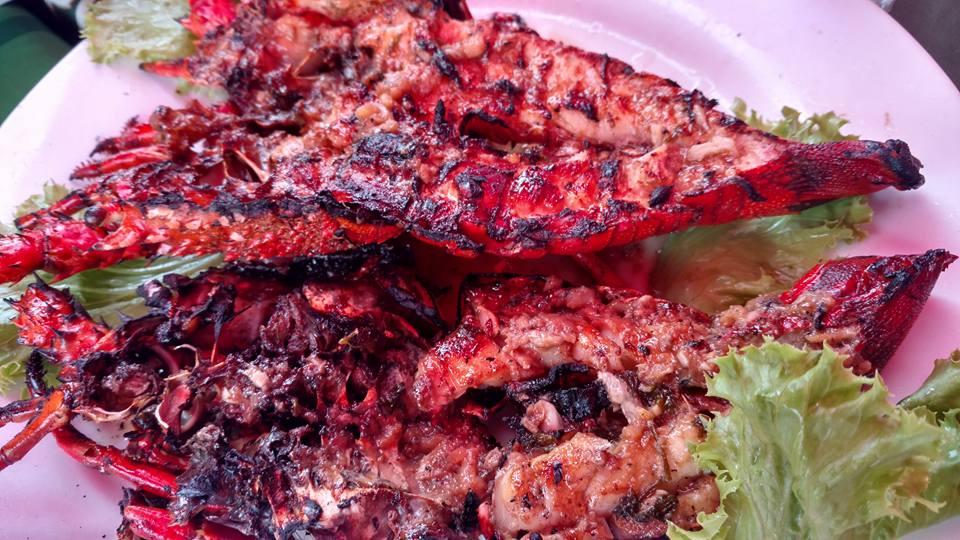 Lagosta pra que te quero no Mercado de Peixe de Maputo