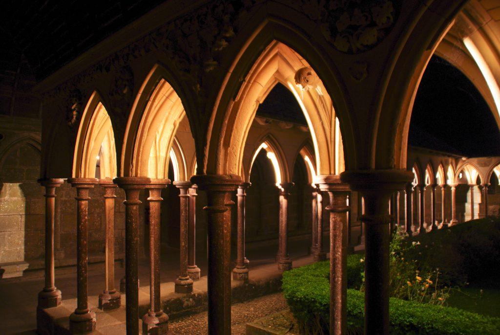 Arquitetura Medieval, Monte Saint-Michel. shogunangel. Flickr.