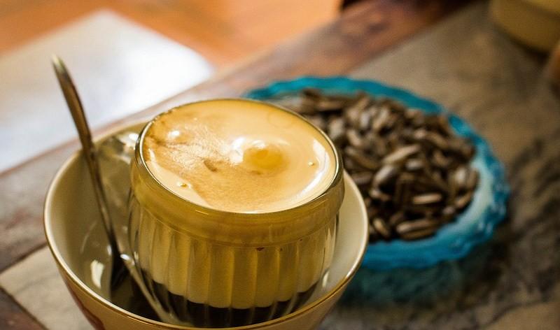 Egg Coffee | Giang Cafe | Divulgação