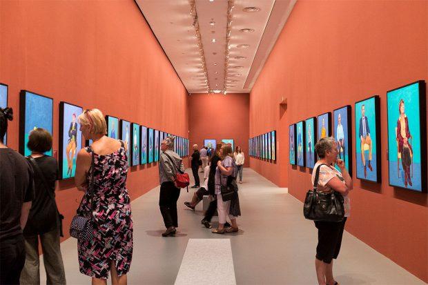 Retrospectiva David Hockney, Tate Britain. Fotografia: mark walsh. Flickr.
