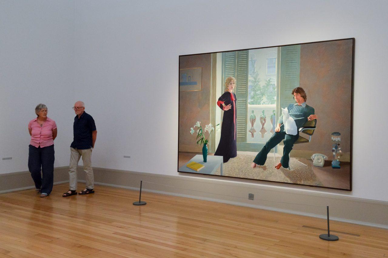 David Hockney, Mr and Mrs Clark and Percy 1970. Fotografia: Francisco Anzola. Flickr.