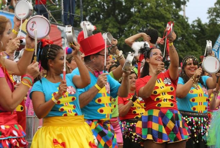 O Sargento Pimenta toca repertório dos Beatles em ritmo de carnaval. Foto: Fernando Maia/Riotur