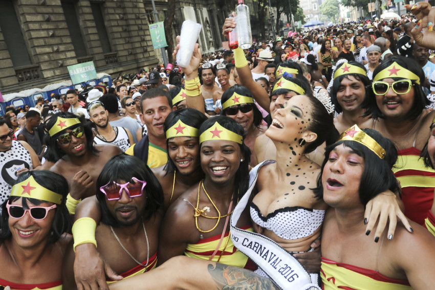 O Cordão do Bola Preta, com seus milhões de foliões. Foto: Hudson Pontes/Riotur