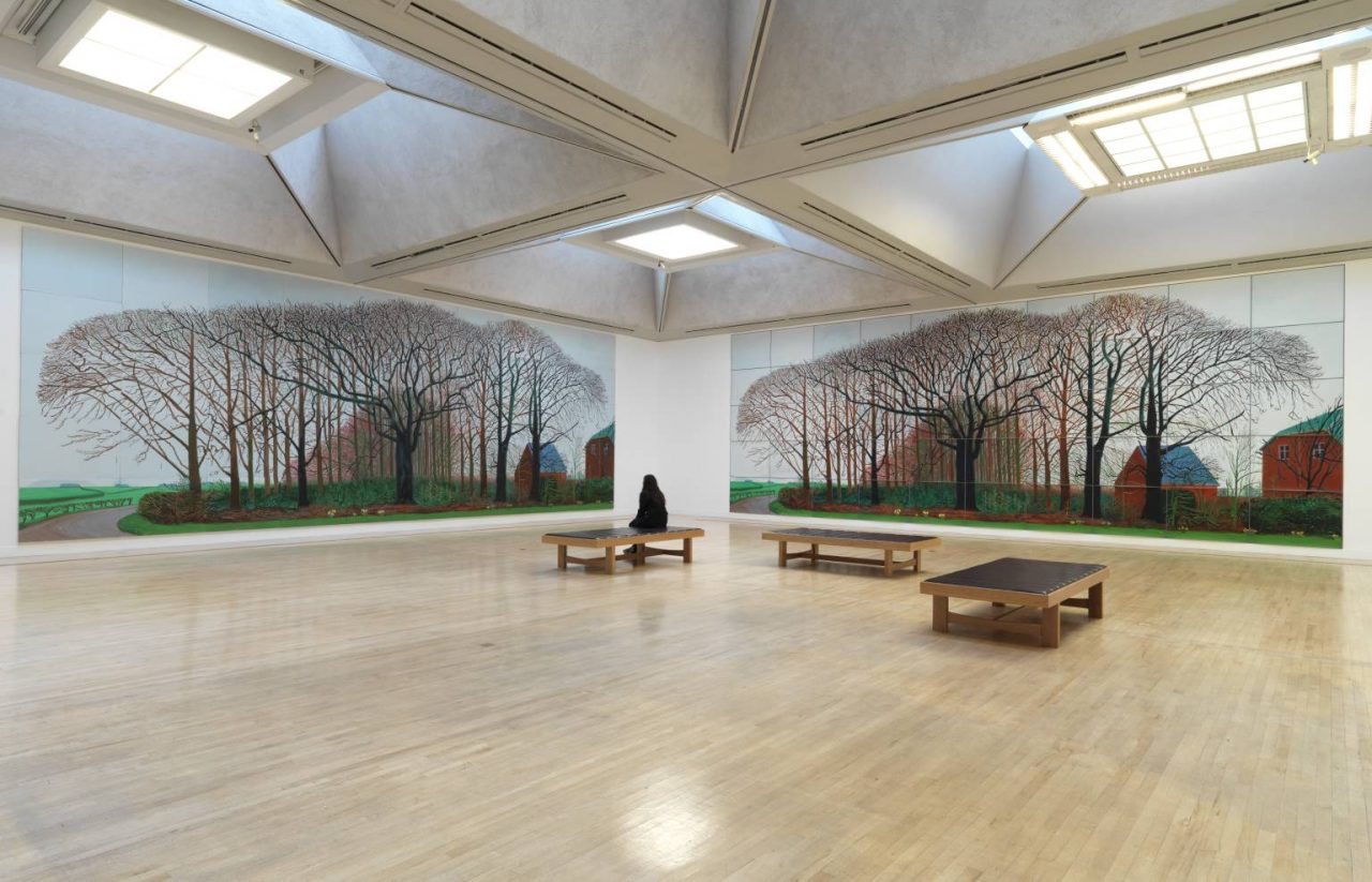 Bigger Trees Near Warter Or/Ou Peinture Sur Le Motif Pour Le Nouvel Age Post-Photographique 2007 David Hockney born 1937 Presented by the artist 2008 http://www.tate.org.uk/art/work/T12887