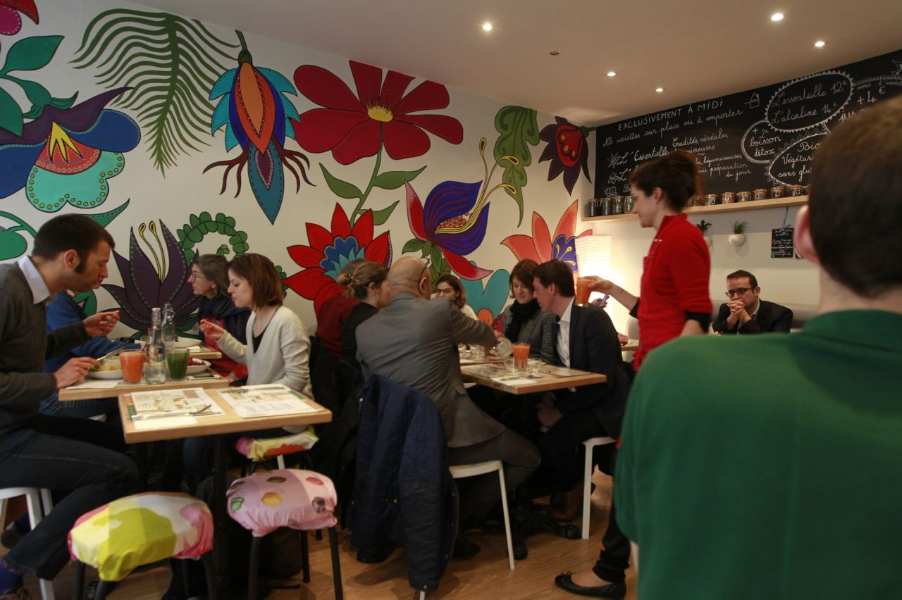 Restaurant PH7 a Paris - le 10/02/2016 Sebastien SORIANO/ LE Figaro