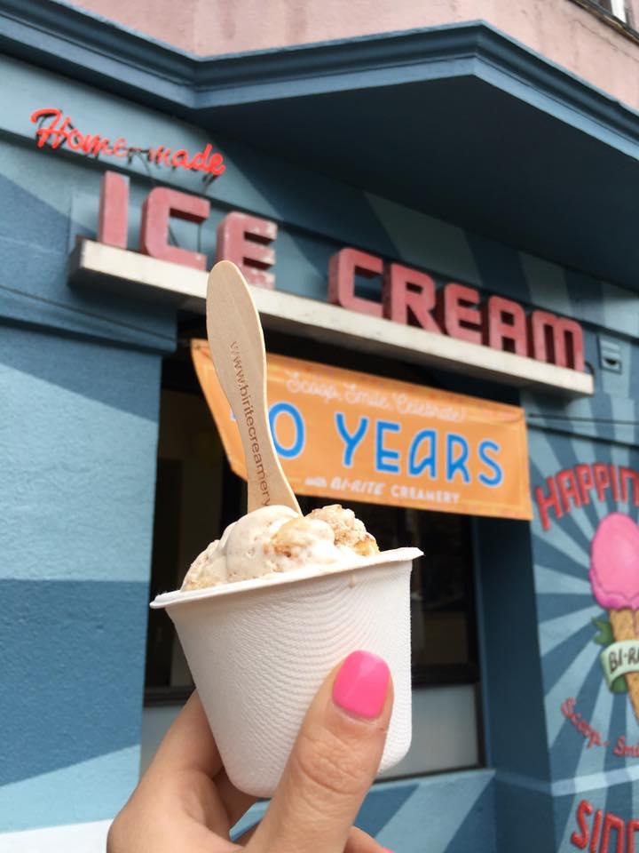 Meu sorvete favorito. Foto por Fernanda Secco