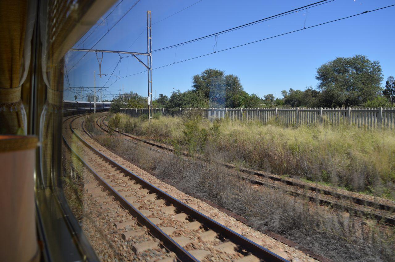 Vista da janela Blue Train | Foto: Vanessa M.