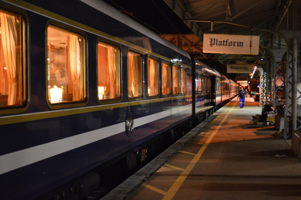Anoitecer no Blue Train| Foto Vanessa M.